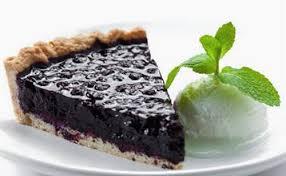 Черничный пирог
